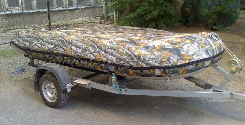 тент транспортировочный на лодку badger