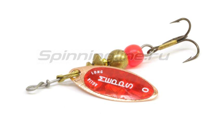 Блесна Aglia Longue Redbo 0 C 2,5гр -  1