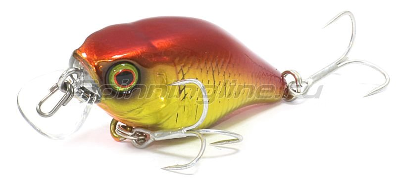 Воблер Jackall Chubby 38F hl red & gold -  1
