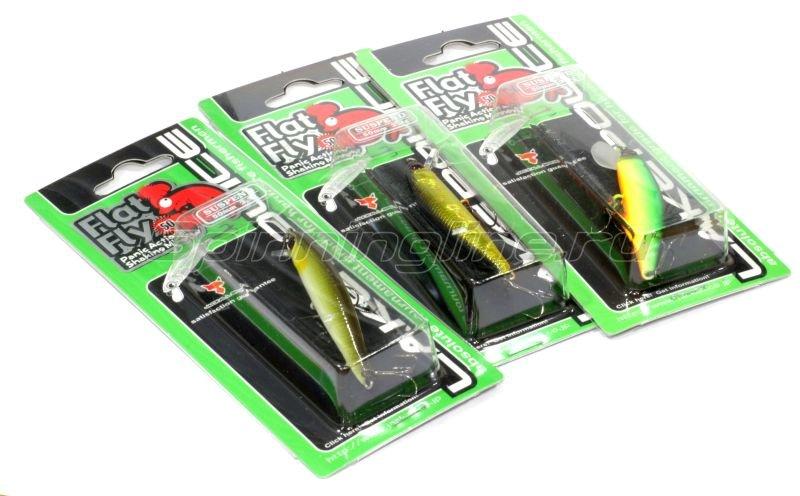 Воблер Jackall Flat Fly 50SP matt glitter pallet -  2