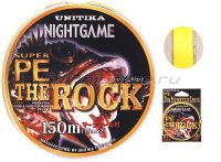 Шнур Unitika NightGame PE Rock 150м 1.2