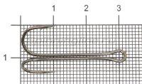 Двойник Saikyo Long Double Hook KH-11040 №4