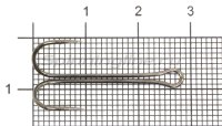 Двойник Saikyo Long Double Hook KH-11040 №6