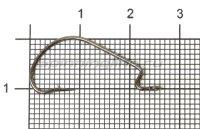 Крючок Saikyo BS-2312BN №2