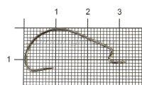 Крючок Saikyo BS-2315 BN №4