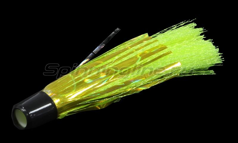 Вабик 5см d-4мм зеленый-голограмма -  1