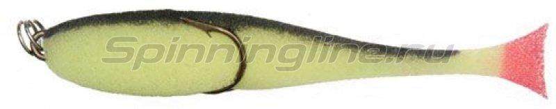 """Поролоновая рыбка """"Контакт""""(двойник) 10см, желто-черный -  1"""