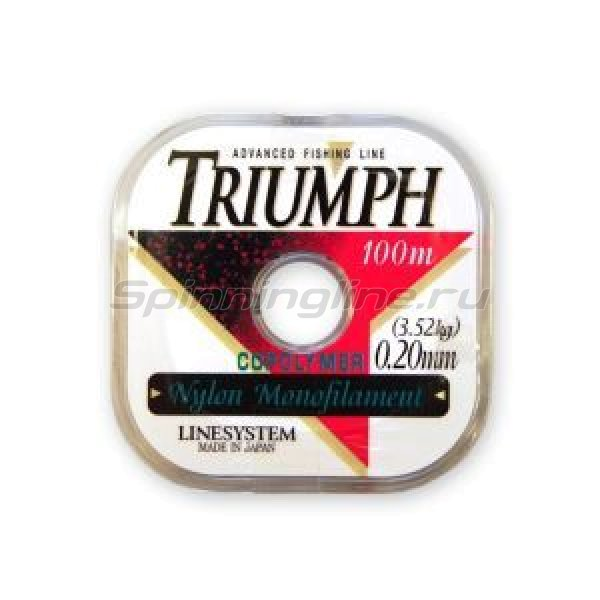 LineSystem - Леска Triumph Pure 100м 0,14мм - фотография 1