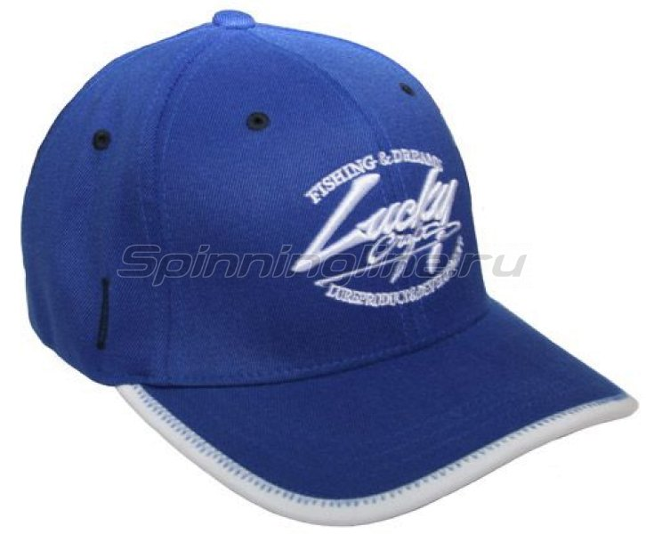 Кепка Lucky Craft Racing Flex Fit Cap Blue - фотография 1