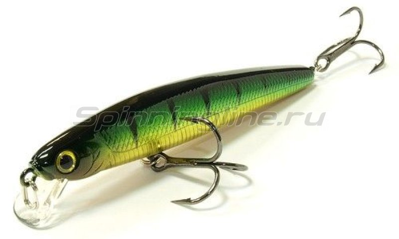 Lucky Craft - Воблер Flash Minnow 95MR Aurora Green Perch 280 - фотография 1