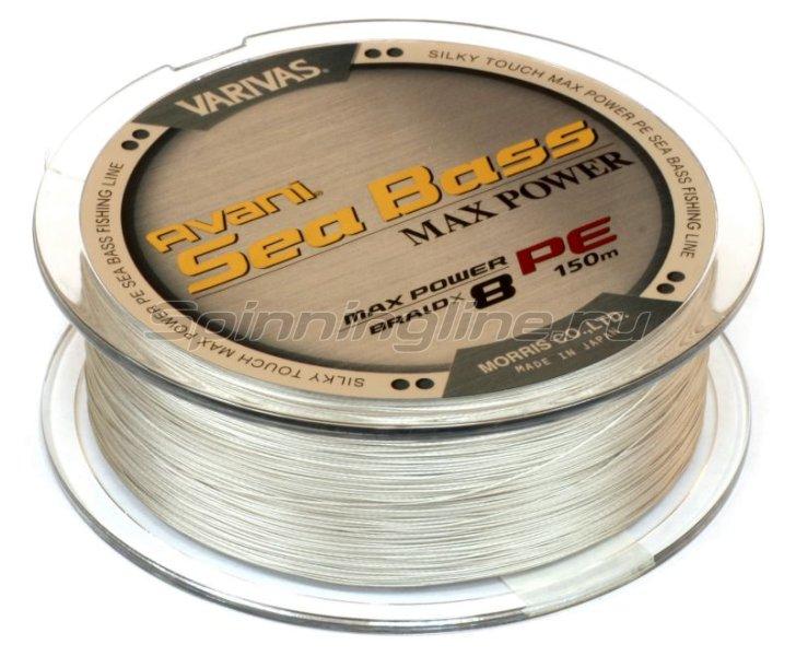 Шнур Avani Sea Bass Max Power PE 8 Braid 150м 1.5 -  2
