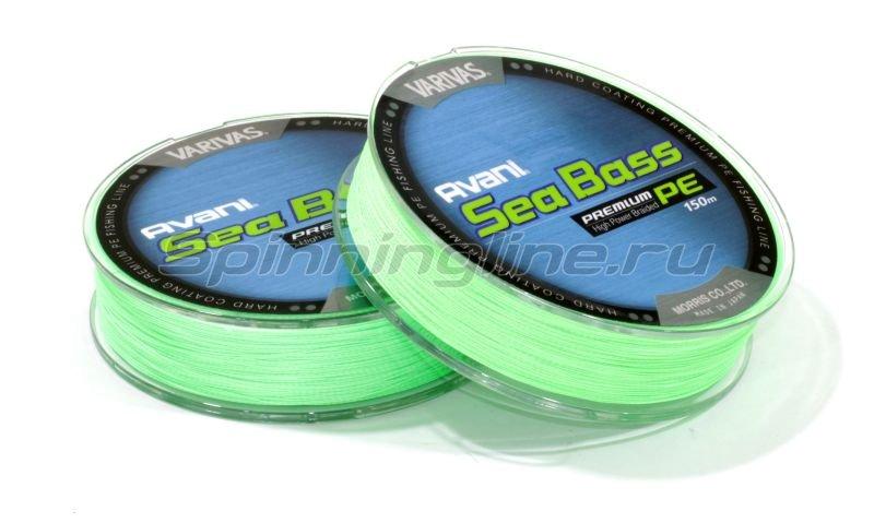 Шнур Avani Sea Bass Premium PE 150м 1 -  3
