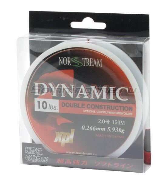 Леска Norstream Dynamic 150м 0,210мм -  1