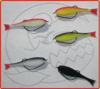 Поролоновые рыбки Контакт Офсетный крючок