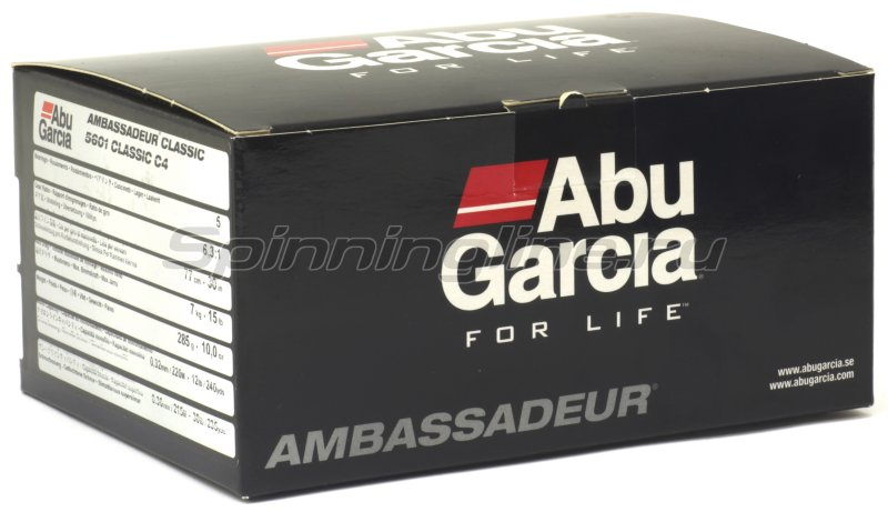 Катушка Abu Garcia Ambassadeur 5601C4 LH -  5