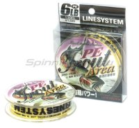 Шнур Line System Trout Area PE 130м 0.6