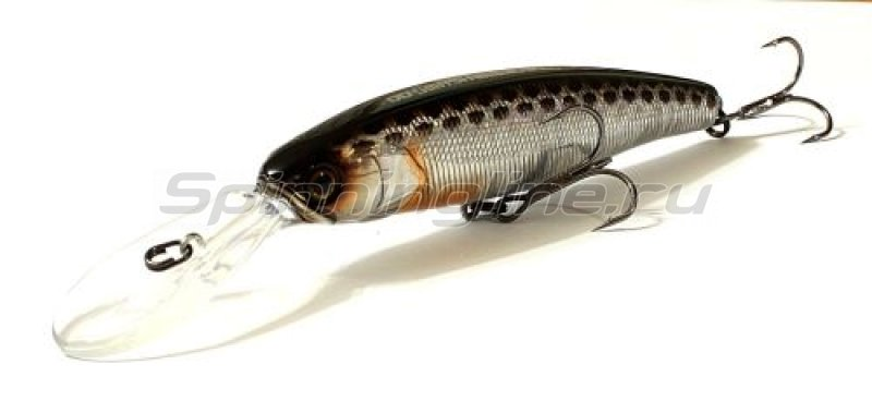 Воблер DD Smash Minnow 100 SP hl silver & black -  1