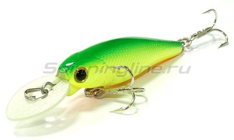 Lucky Craft - Воблер Bevy Shad MK-II 50SP Green Lime Chart 133 - фотография 1