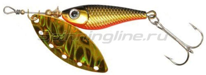 Блесна Silver Creek SPINNER(R)1120 holo kurokin -  1