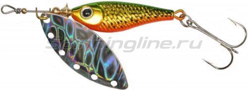 Daiwa - Блесна Silver Creek SPINNER(R)1180 holo g gold - фотография 1