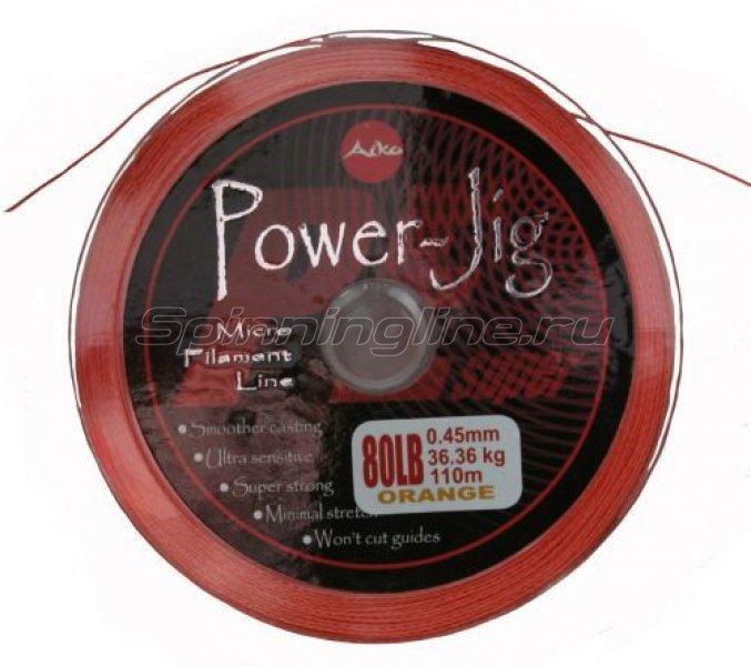 Aiko - Шнур Power Jig Braided 110м 0,45мм - фотография 1