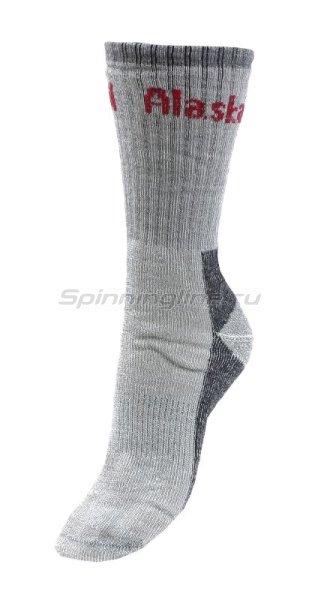 Носки Alaskan серые М - фотография 1