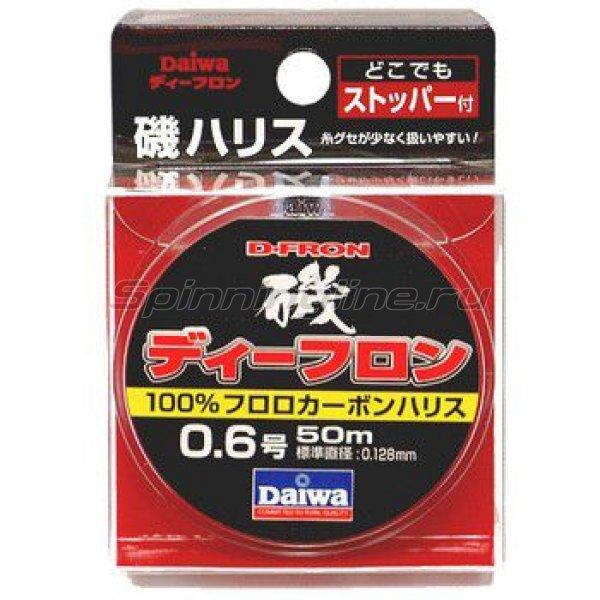 Daiwa - Леска D-Fron lso Harisu 50м 0,128мм - фотография 1