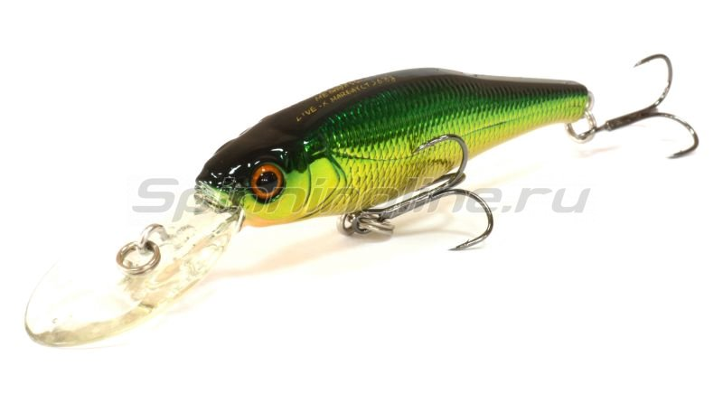 Megabass - Воблер Live-X Margay Tungsten m golden lime - фотография 1