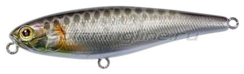 Jackall - Воблер Bonnie 95 hl silver & black - фотография 1