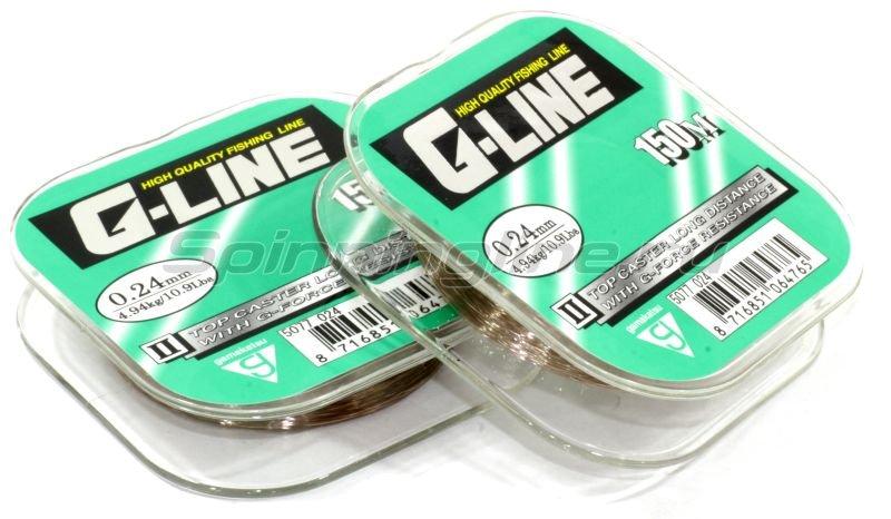 Леска G-Line Topcaster 100м 0,18мм -  1