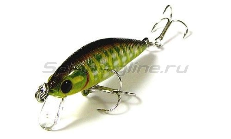 Lucky Craft - Воблер Bevy Minnow 40SP Ghost Northern Pike 881 - фотография 1