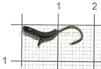 Мормышка Комар d3 черный никель