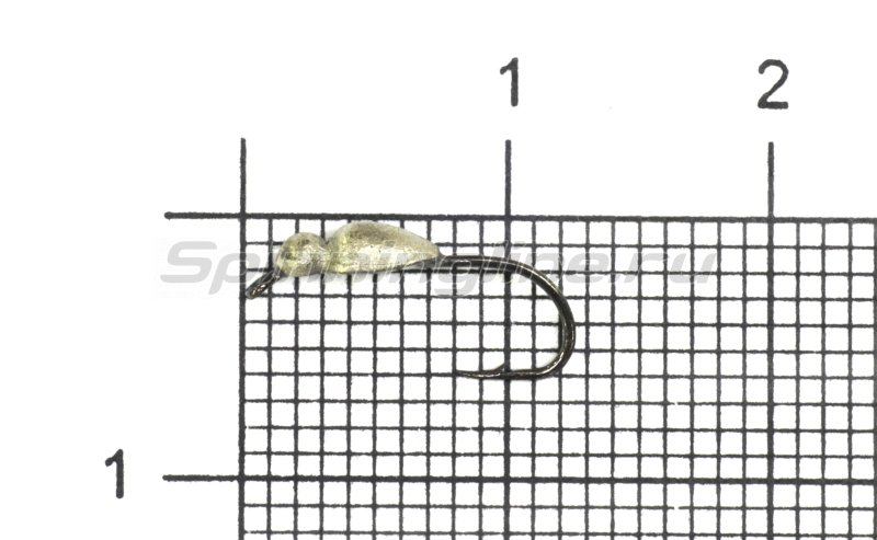 Мормышка LumiCom Нимфа d3 никель -  1
