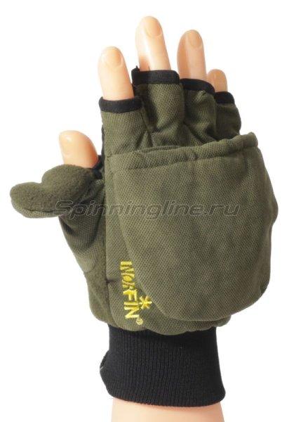 Перчатки-варежки Norfin отстегивающиеся с магнитом XL - фотография 1