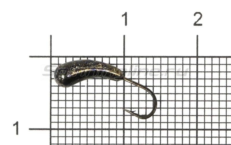 Lumicom - Мормышка Уралка d4 черный никель - фотография 1