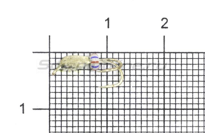 Мормышка LumiCom Коза капля d2.5 серебро -  1