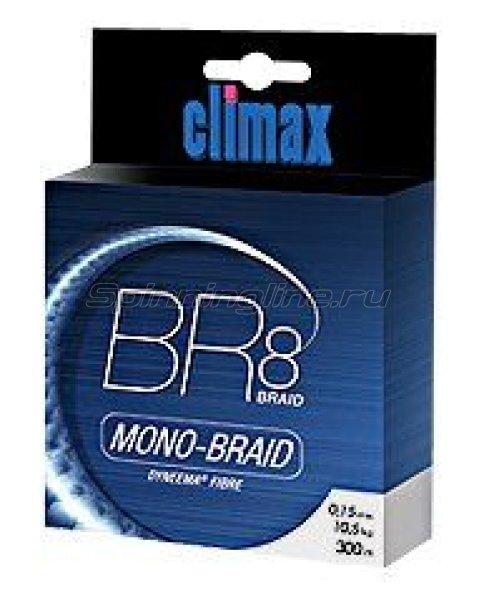 Шнур BR8 Mono-Braid 135м 0.12мм зеленый -  1