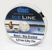 Шнур Match/Stip Braided Ice 25м 0.07мм