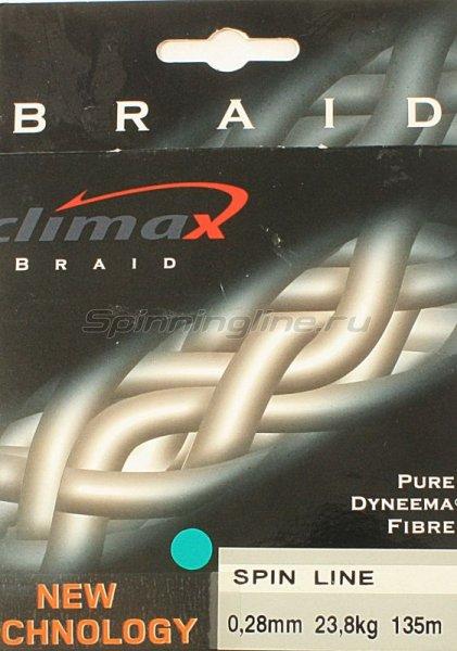 Climax - Шнур Spin Line Braided Rund 135м 0.18мм - фотография 1