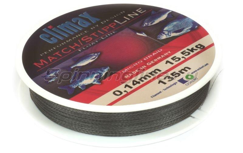 Climax - Шнур Match/Stip Line Braided 135м 0.12мм - фотография 2