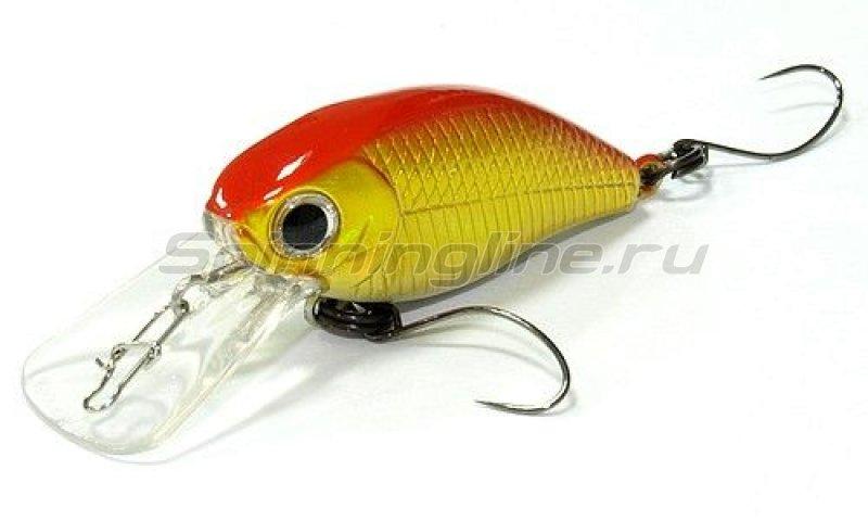 Lucky Craft - Воблер Flat Cra-Pea MR Orange Gold 602 - фотография 1