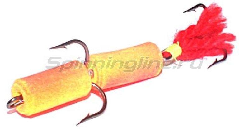 Мандула оранжевый, оперение - красное (шерсть) -  1