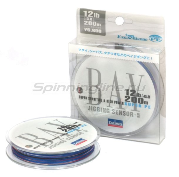 Daiwa - Шнур Bay Jigging Sensor+Si 200м 0.6 - фотография 1