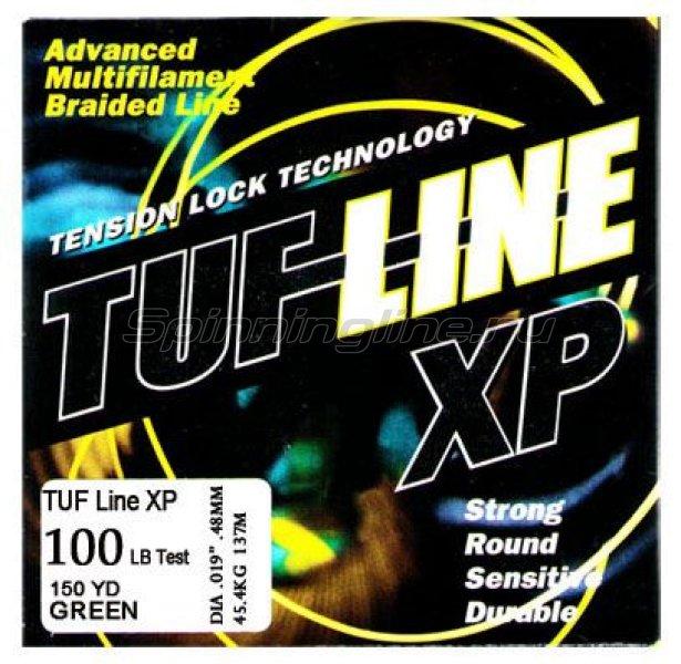 Tuf-Line - Шнур XP 137м 0.10мм red - фотография 1
