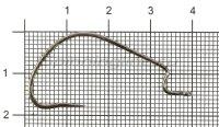 Крючок Gamakatsu WORM HOOK 314 MB №2/0 упаковка 6 штук