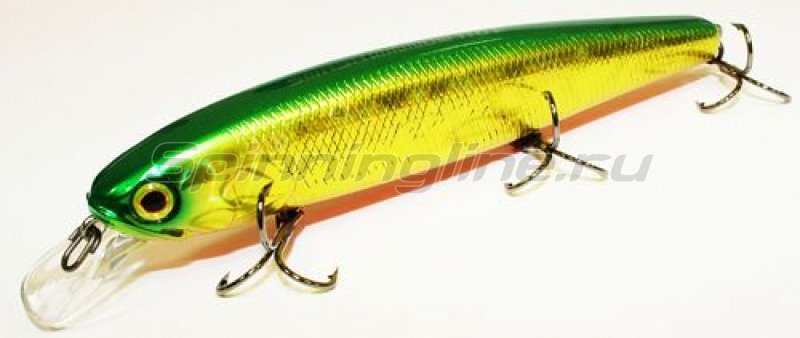 Jackall - Воблер Smash Minnow 110 green back gold - фотография 1