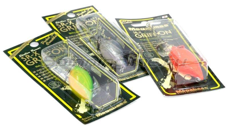 Megabass - Воблер SR-X Griffon crack lime chart ll - фотография 2