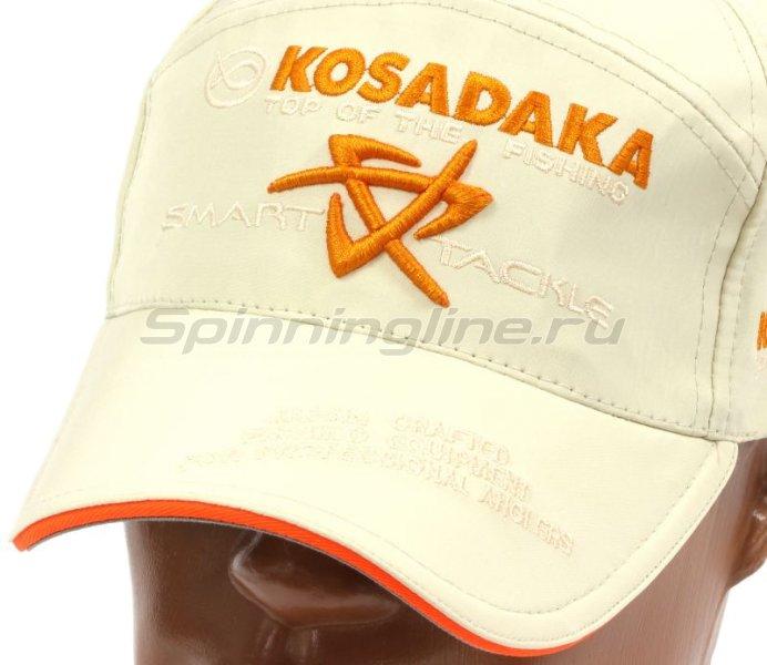 Кепка Kosadaka Smart Tackle бежевая - фотография 2