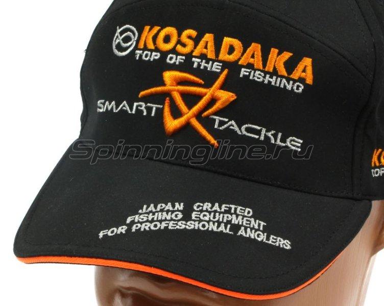 Кепка Kosadaka Smart Tackle черная -  3