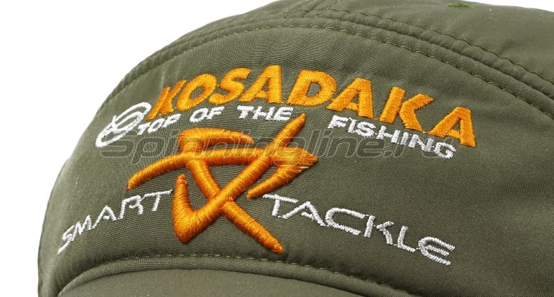 Кепка Kosadaka теплая Smart Tackle хаки - фотография 3